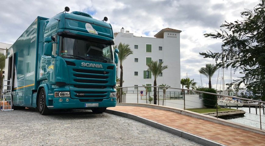 Local and national removals in Málaga