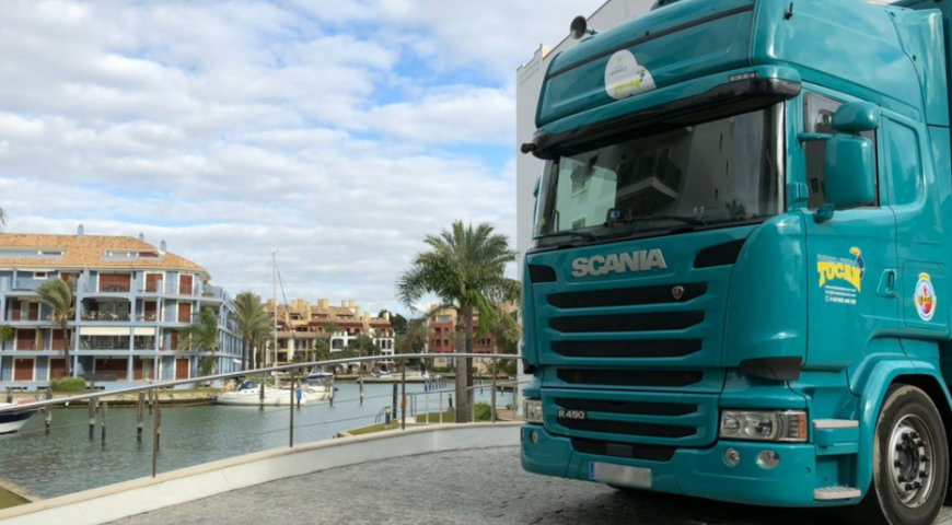 Local and national removals service in Málaga